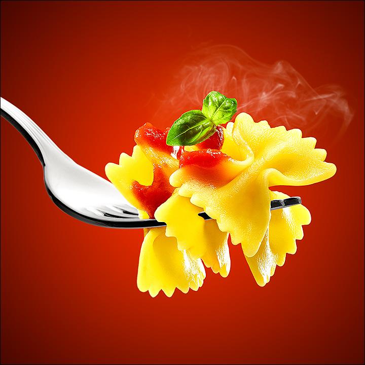 pasta pomodoro basilico farfalle