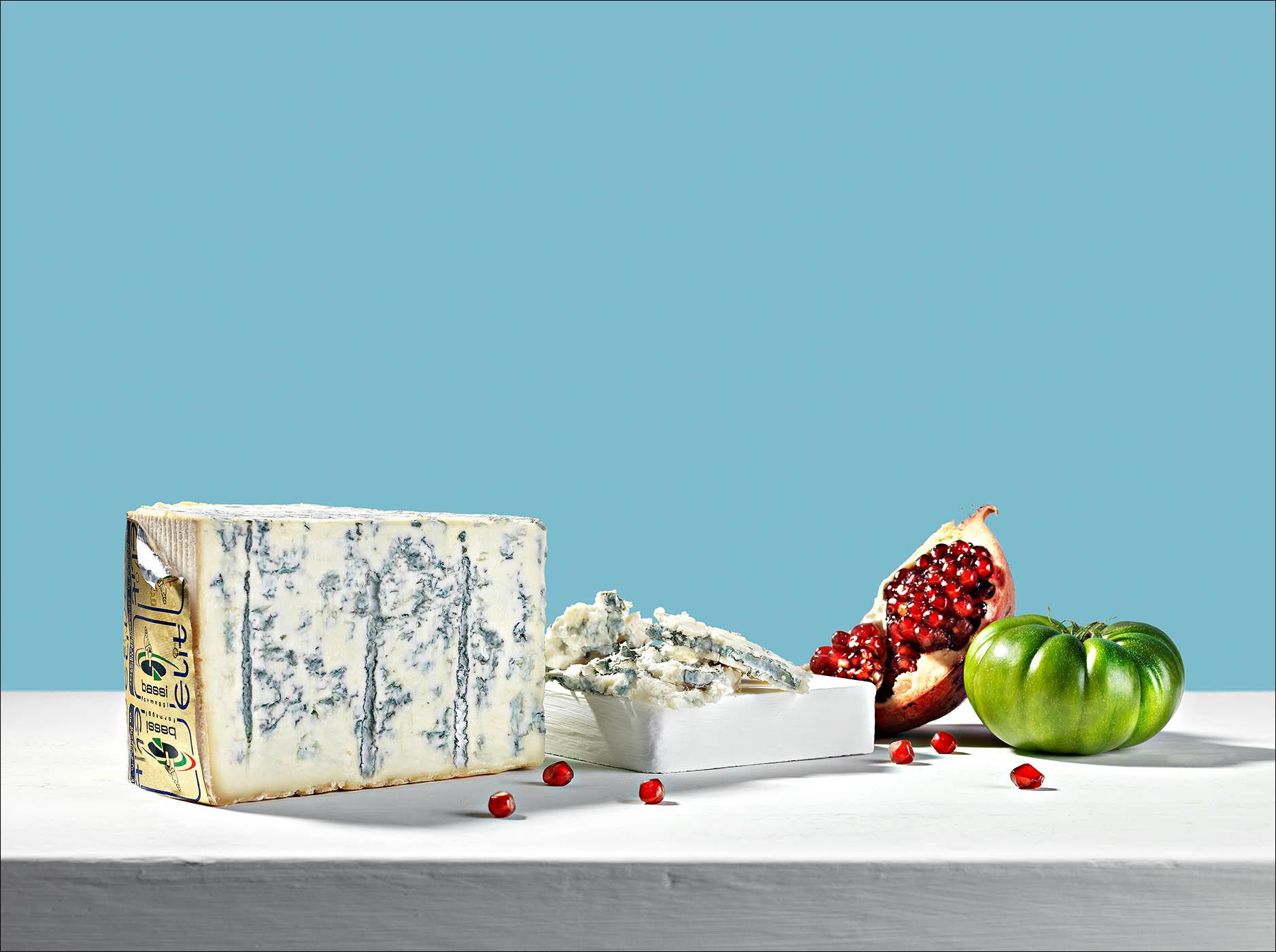 Food fotografo still life Gorgonzola | Andrea Sudati Photo Studio