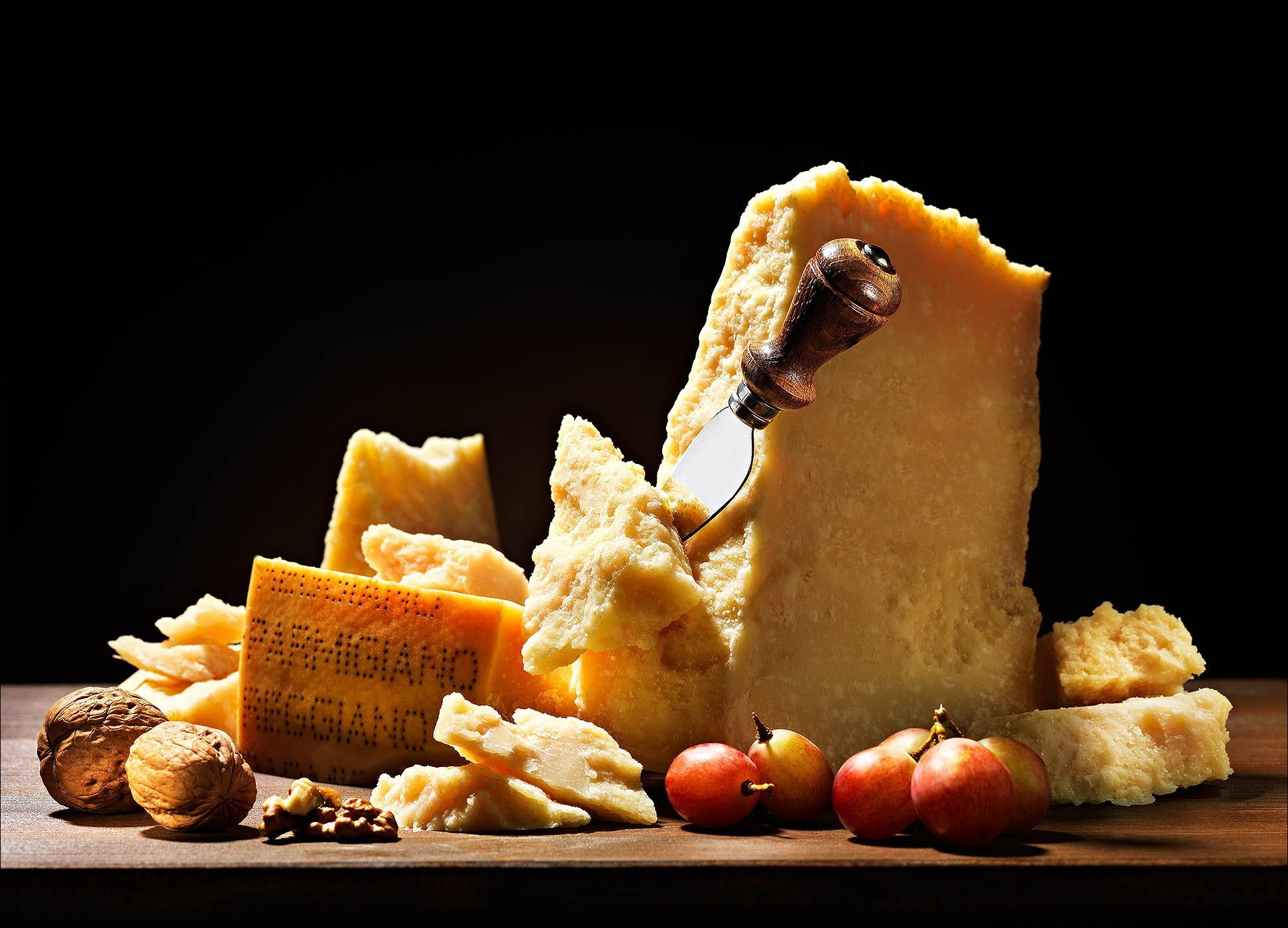 Food fotografo still life Parmigiano Reggiano | Andrea Sudati Photo Studio