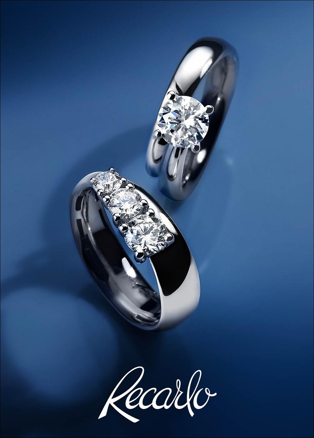 Fotografo still life gioielli anelli diamanti Recarlo | Andrea Sudati Photo Studio