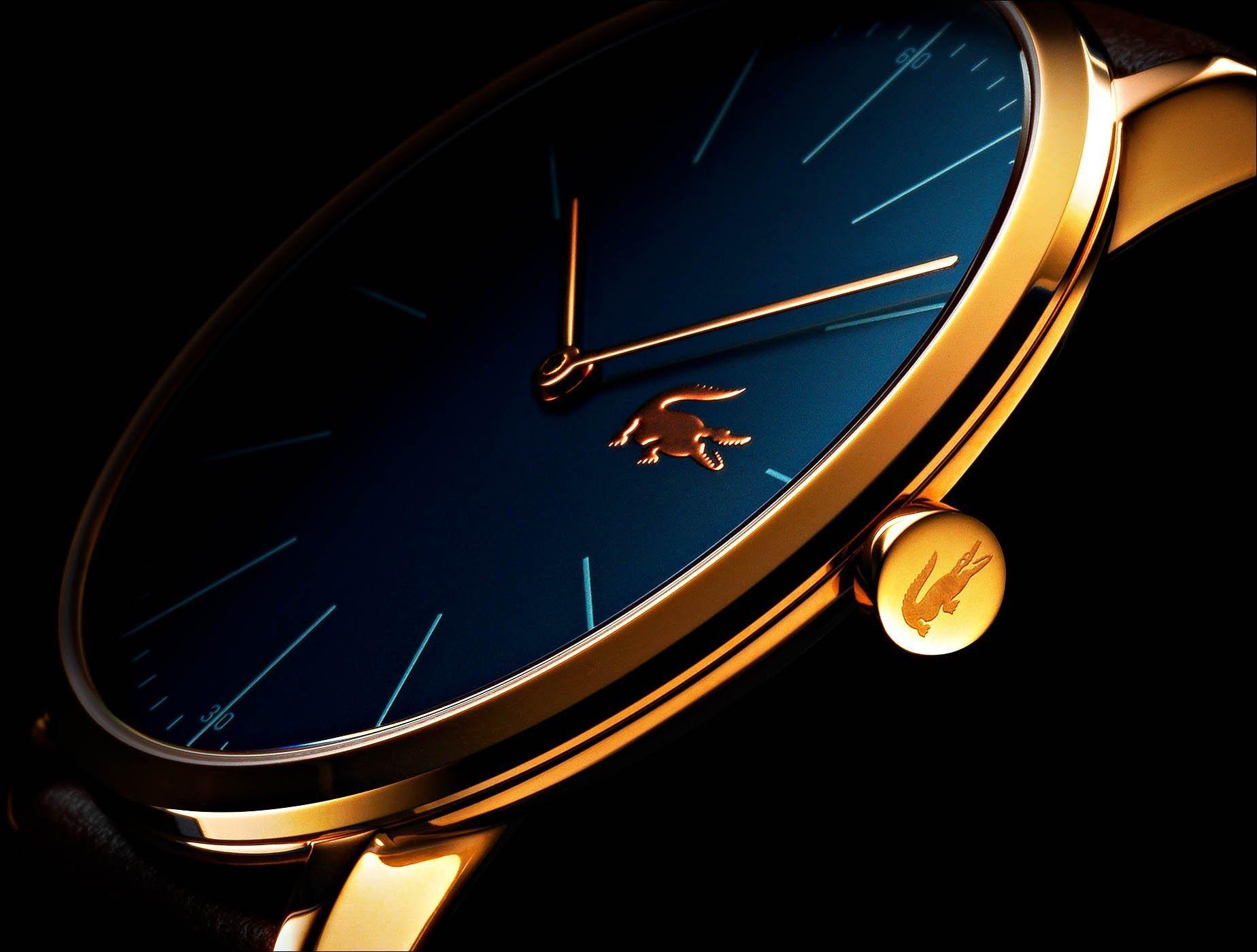 Fotografo still life orologi Lacoste dettagli | Andrea Sudati