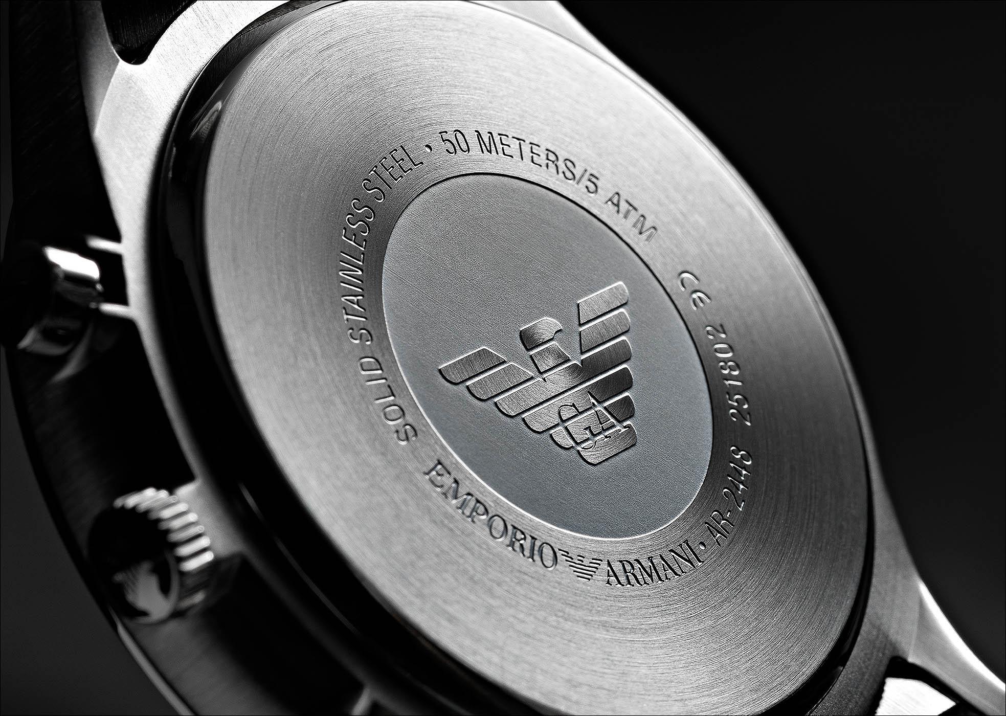 Fotografo orologi Emporio Armani | Andrea Sudati