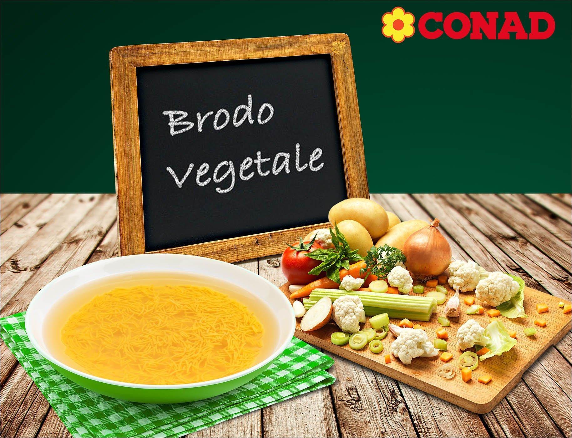 Fotografo still life brodo di vegetale Conad | Andrea Sudati Photo Studio